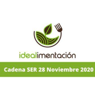 Marta García, gerente de CEIP Rural, explica el proyecto en la Cadena SER